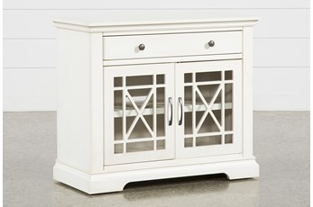 Belle White Accent Chest