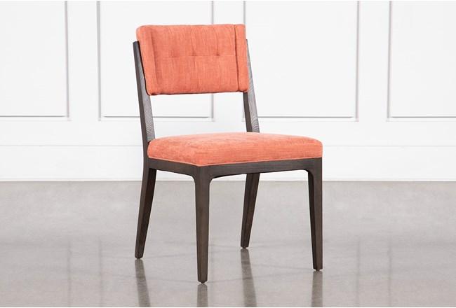 Sabio Papaya Dining Side Chair - 360