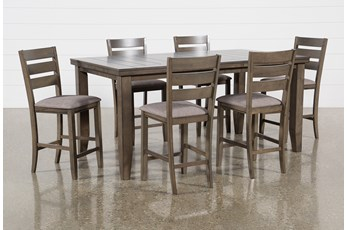 Ashford II 7 Piece Extension Counter Set