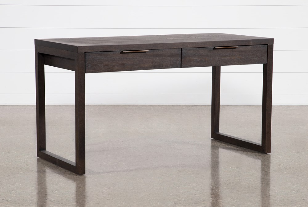 "Pierce Black 56"" Writing Desk"