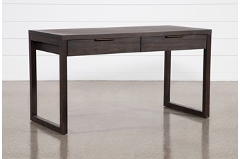 "Pierce Black 56"" Writing Desk"