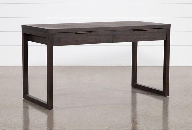 "Pierce Black 56"" Writing Desk  - 360"