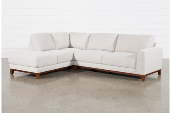 "Amherst Cobblestone 2 Piece 114"" Sectional With Left Arm Facing Chaise"
