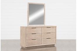 Pierce Natural Dresser/Mirror