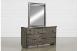 Marco Charcoal Dresser/Mirror