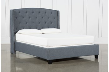 Farrah II Queen Upholstered Panel Bed