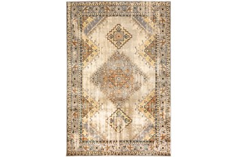 63X87 Rug-Global Traditional Taupe