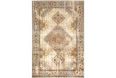 79X110 Rug-Global Traditional Taupe