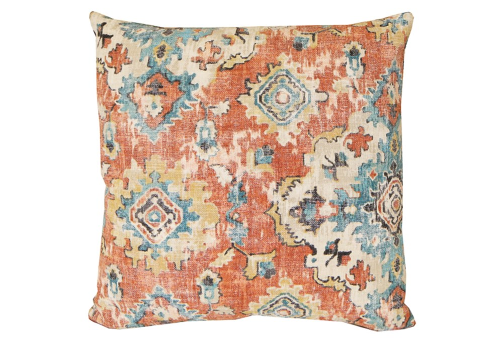 Accent Pillow-Terracotta Antique Damask 20X20