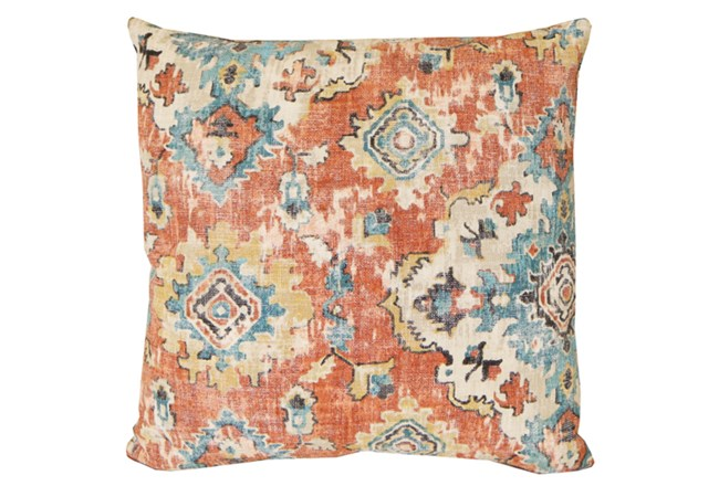 Accent Pillow-Terracotta Antique Damask 20X20 - 360
