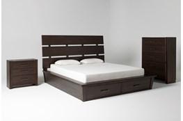 Teagan Eastern King Storage 3 Piece Bedroom Set