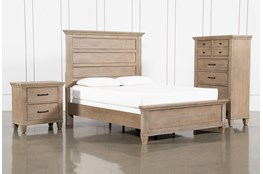 Meridian Queen Panel 3 Piece Bedroom Set