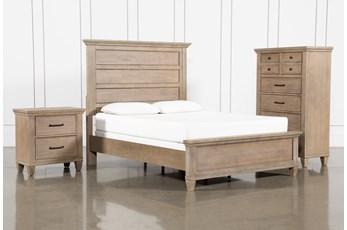 Meridian Queen Panel 3 Piece Bedroom Set