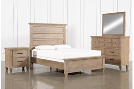 Meridian Eastern King Panel 4 Piece Bedroom Set