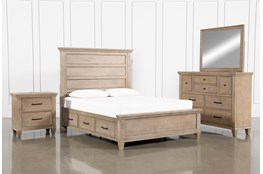 Meridian Queen Storage 4 Piece Bedroom Set