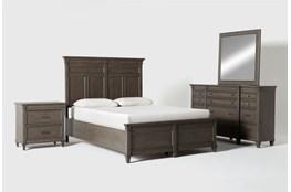 Augusta Queen Panel 4 Piece Bedroom Set