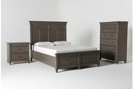 Augusta Queen Storage 3 Piece Bedroom Set