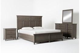 Augusta Eastern King Panel 4 Piece Bedroom Set