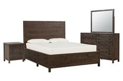 Rowan Queen Storage 4 Piece Bedroom Set