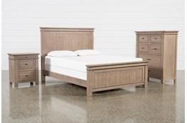 Coleman California King Panel 3 Piece Bedroom Set
