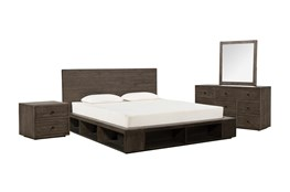 Dylan Queen Platform 4 Piece Bedroom Set