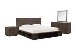 Dylan California King Platform 4 Piece Bedroom Set
