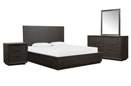 Pierce Eastern King Storage 4 Piece Bedroom Set