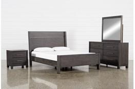 Slater California King Panel 4 Piece Bedroom Set