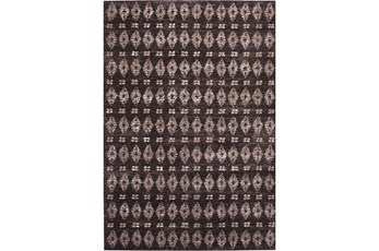 94X134 Rug-Brown Torgom Antique