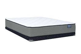 Kit-Revive Series 5 Firm Queen Mattress W/Low Profile Foundation