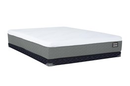 Kit-Revive Series 6 Hybrid Queen Mattress W/Low Profile Foundation