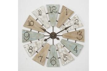 32 Inch Triangle Cut Out Clock