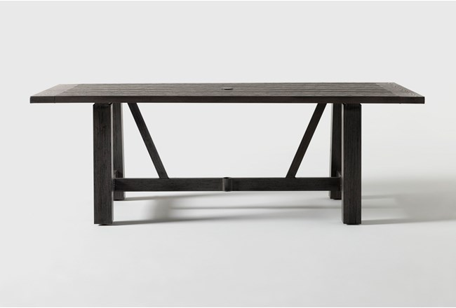 Panama Outdoor Rectangle Dining Table - 360