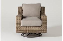 Capri Outdoor Swivel Chair