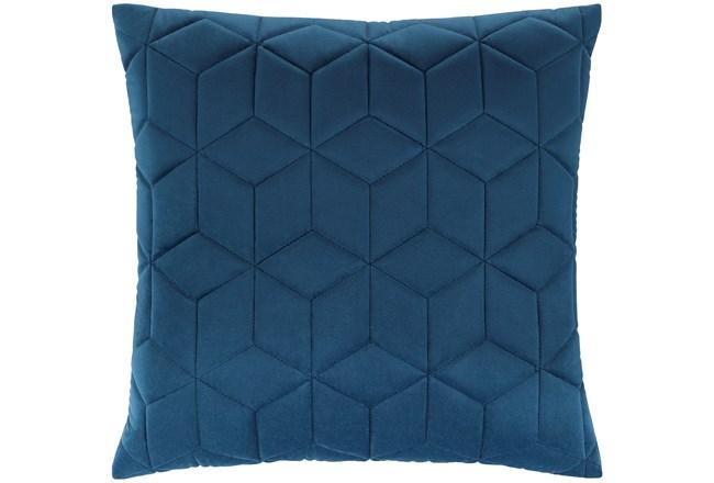Accent Pillow-Diamond Quilt Cobalt 20X20 - 360