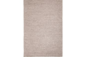 96X120 Rug-Karisa Braided Heather Grey