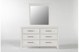 Dawson White Dresser/Mirror