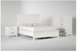 Dawson White California King 3 Piece Bedroom Set