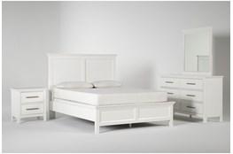 Dawson White California King 4 Piece Bedroom Set