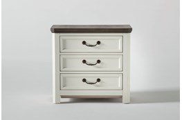 """Garland 28"""" Nightstand With USB"""