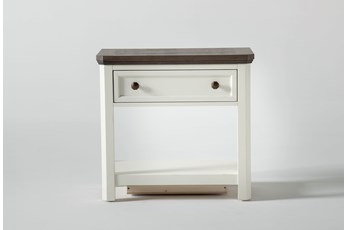 "Garland Open 28"" Nightstand With USB"