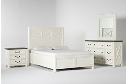 Garland Queen Panel 4 Piece Bedroom Set