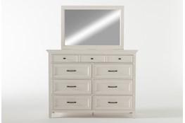 Presby White Dresser/Mirror