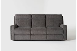 "Hewitt Grey 85"" Reclining Sofa"