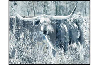Picture-Longhorn Blue Ii 50X38