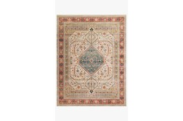 94X120 Rug-Magnolia Home Graham Persimmon/Antique Ivory By Joanna Gaines