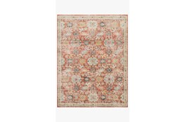 94X120 Rug-Magnolia Home Graham Persimmon/Multi By Joanna Gaines