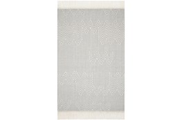 27X45 Rug-Magnolia Home Newton Lt Grey/Ivory By Joanna Gaines