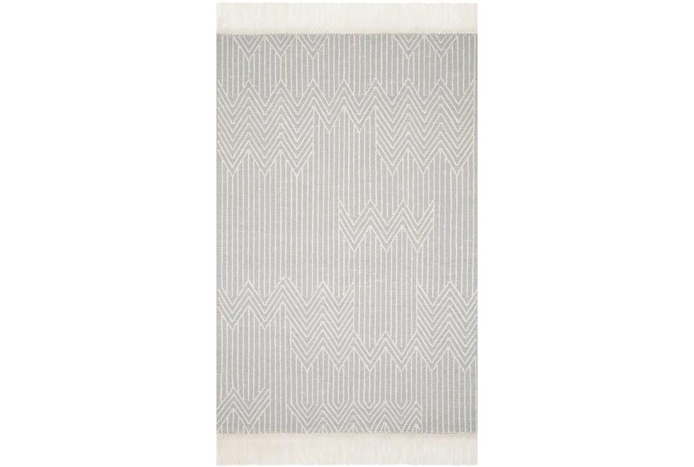 60X90 Rug-Magnolia Home Newton Lt Grey/Ivory By Joanna Gaines