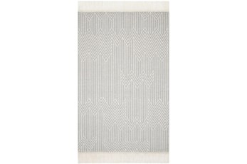 60X90 Rug-Magnolia Home Newton Lt Grey/Ivory By Joanna Gaines